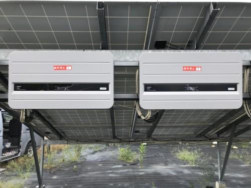 交換前:オムロンのソーラーパワーコンディショナー