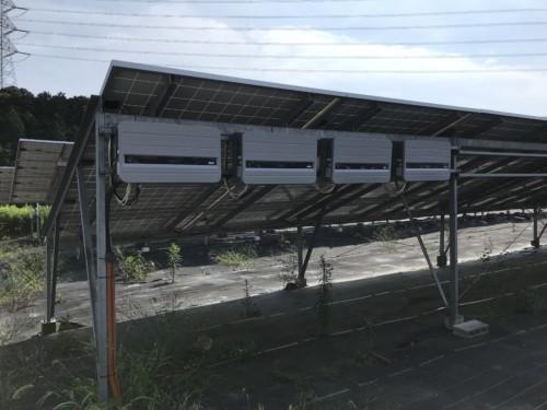 交換後:オムロン(OMRON)ソーラーパワーコンディショナーKP55M2-J4